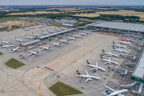 Stansted in top five European airports for growth in direct flights