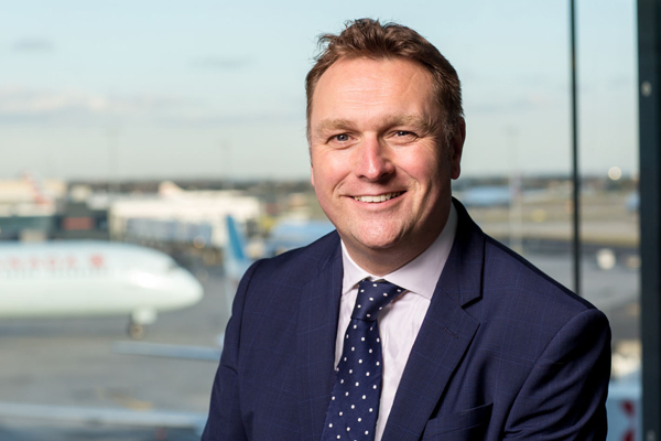 Glasgow airport names new managing director