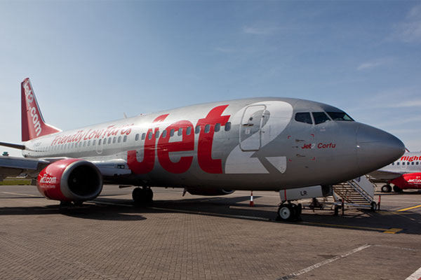 Jet2 flight from Spain 'tracked' by French military jet