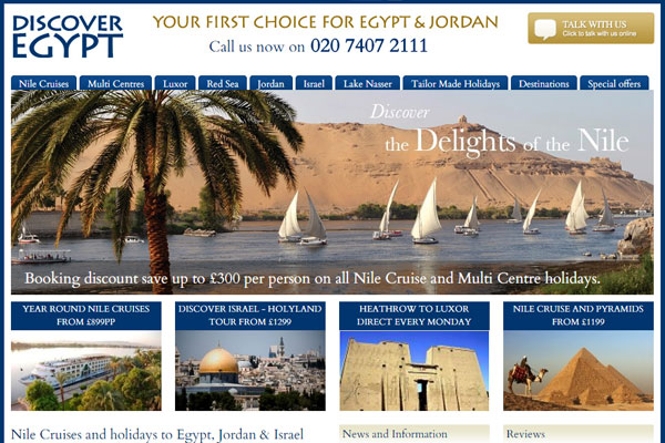 Discover Egypt sold in management buyout
