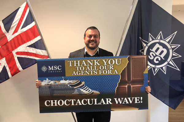 MSC Cruises UK & Ireland thanks agents after record start to wave period