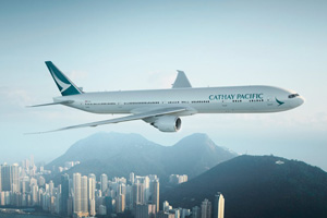 Cathay Pacific reveals new aircraft livery