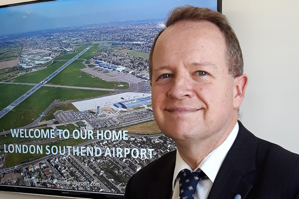 Southend airport recruits former London City sales director to spur growth