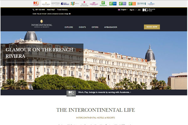 InterContinental Hotels Group linked to £7bn Chinese takeover