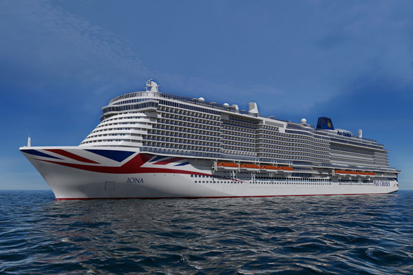 P&O Cruises launches 3D augmented reality campaign for new ship Iona
