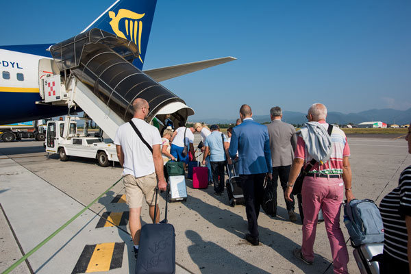 Ryanair reminds passengers of luggage policy changes
