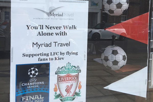 Liverpool agents charter more aircraft for Champions League final