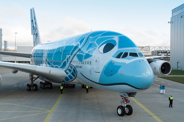 ANA unveils Japan's first Airbus A380