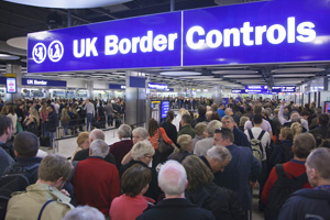 Public want 'tougher' border controls despite Heathrow queues