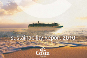 Costa Cruises report shows green gains