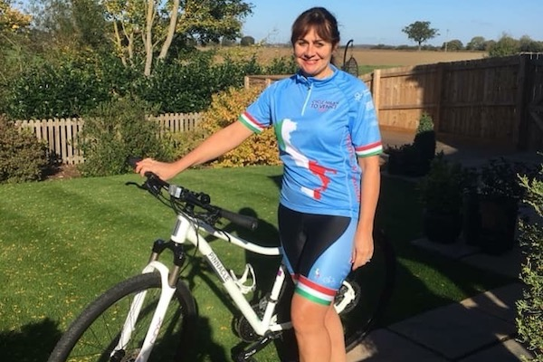 f55b3f7d4 Agent saddles up for 220-mile charity bike ride