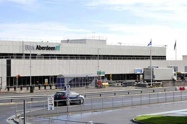 Aberdeen airport shut due to runway damage