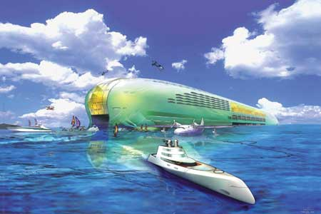 Air, land and sea: what will transport of the future look like?