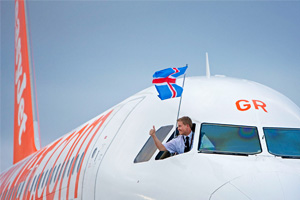 EasyJet debuts flights to Iceland