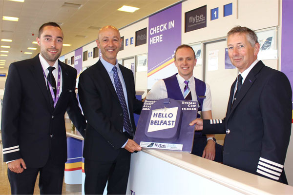 Doncaster Sheffield air link to Belfast takes off