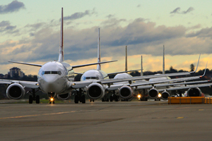 Air passenger numbers approach pre recession levels