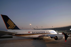Engine problems for Singapore Airlines superjumbo