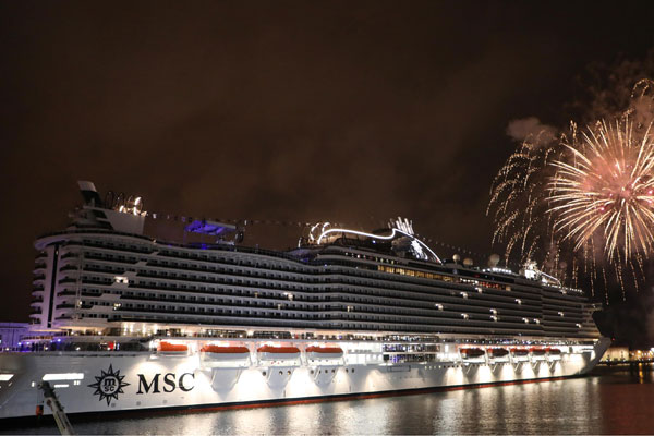 New MSC ships will boost British bookings, says UK boss