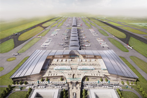 Gatwick reveals 'second runway' images
