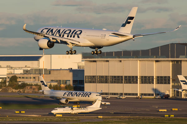 Finnair deploys further Airbus A350 aircraft on Heathrow-Helsinki route