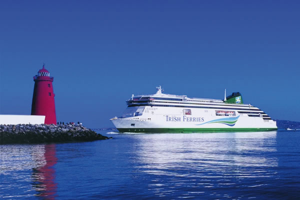 Irish Ferries owner reports 'good start' to year