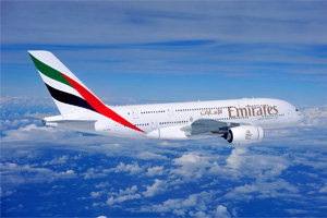 Capacity rise prompts Emirates profit increase