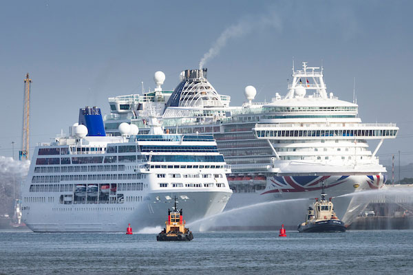 Adonia returns to P&O Cruises fleet