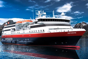 Hurtigruten reveals name for new ship