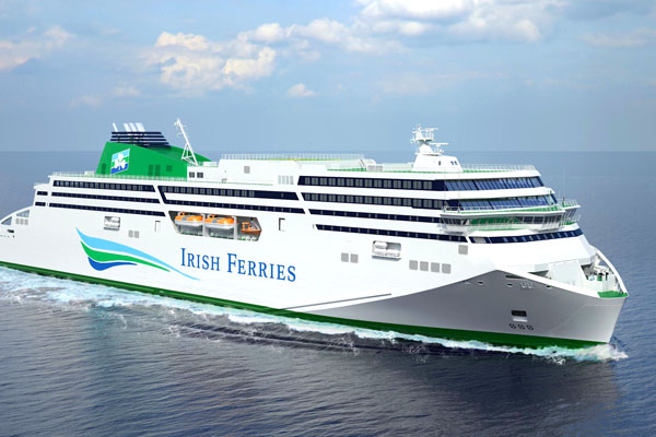 Irish Ferries name £128m vessel after illustrious poet following online appeal