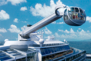 Royal Caribbean to offer 'skydiving' at sea