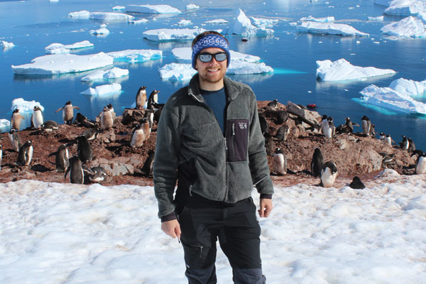 A day in the life: Steffan Danino, Glaciologist