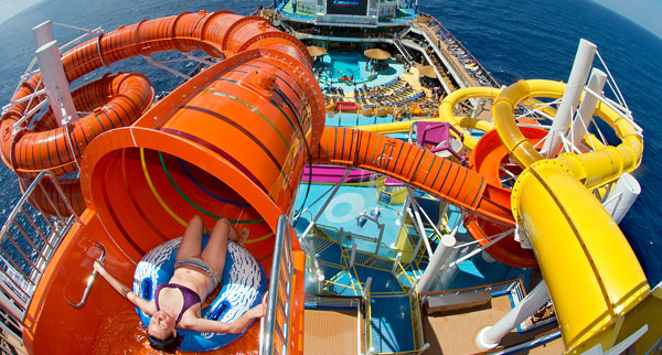 Carnival Vista waterpark