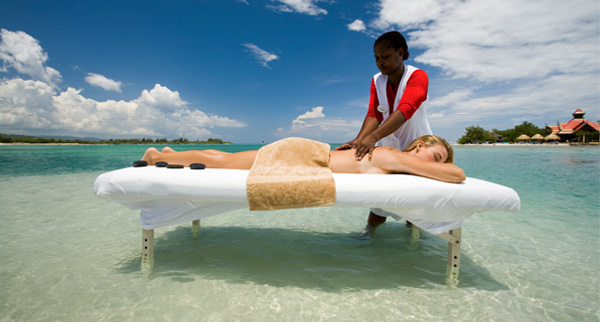 Caribbean massage