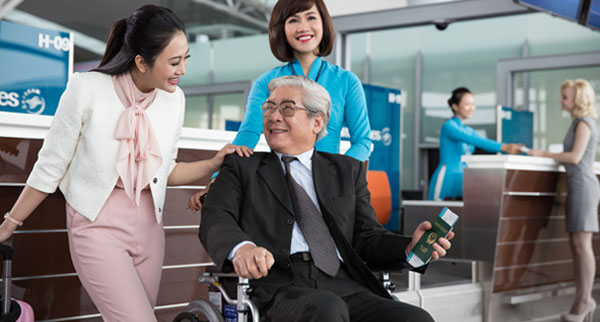 Vietnam Airlines accessible