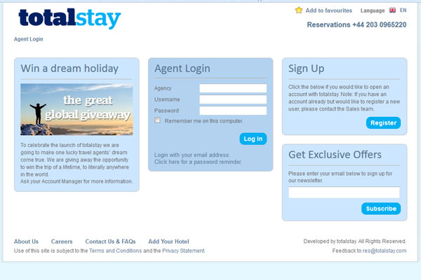 Wholesaler JacTravel launches website for travel agents
