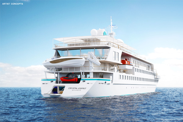 Crystal Yacht Expedition Cruises agent incentive 'Sell 3/Sail Free' returns