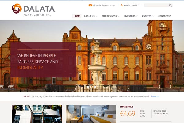 Dalata Hotel Group unveils plans for Newcastle property