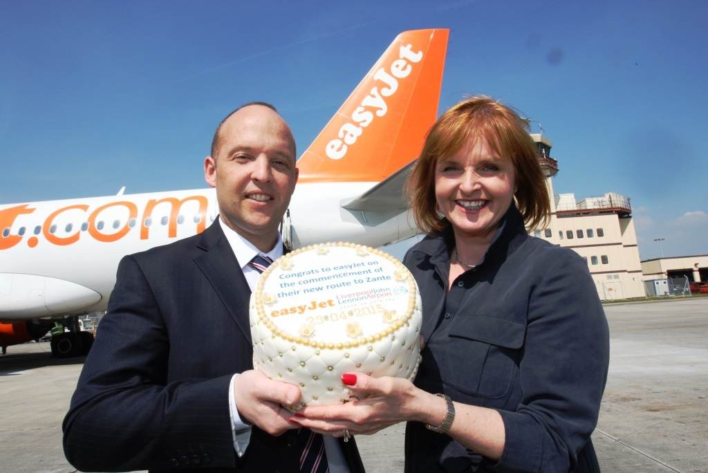 EasyJet launches Zante route from Liverpool