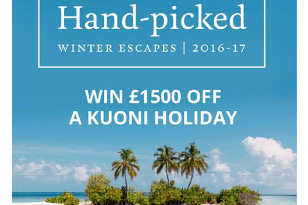 Kuoni announces flash competition with £1,500 agent prize