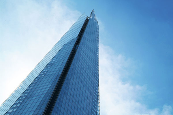 Aircraft in 'near-miss' with drone flying over the Shard