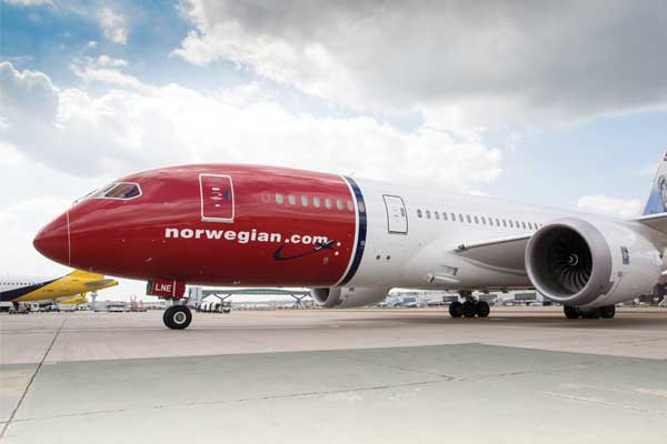 Norwegian Air: 'We'd base 50 787s at expanded Gatwick'