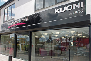 Peter Goord Travel gets Kuoni branded