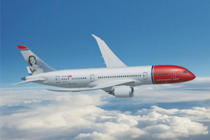 Norwegian Air numbers boosted by growth on long-haul routes