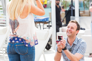 Jet2holidays TV ad winner pops the question
