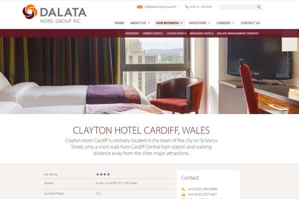 Ireland's largest hotel chain Dalata takes aim at UK expansion