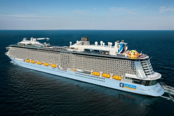 New Royal Caribbean ship to feature suites in private enclave across three decks
