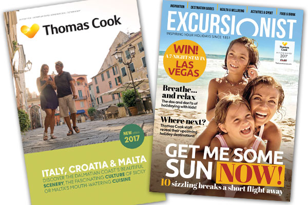 Thomas Cook to shift away from brochures to magazines