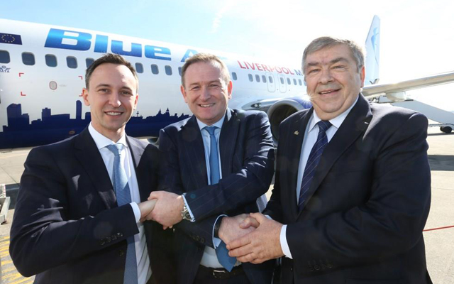 Blue Air makes Liverpool its eighth European base