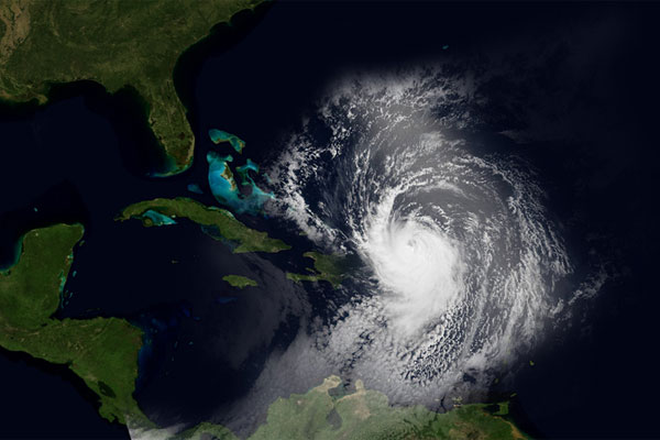 Hurricane Maria threat to Turks and Caicos Islands