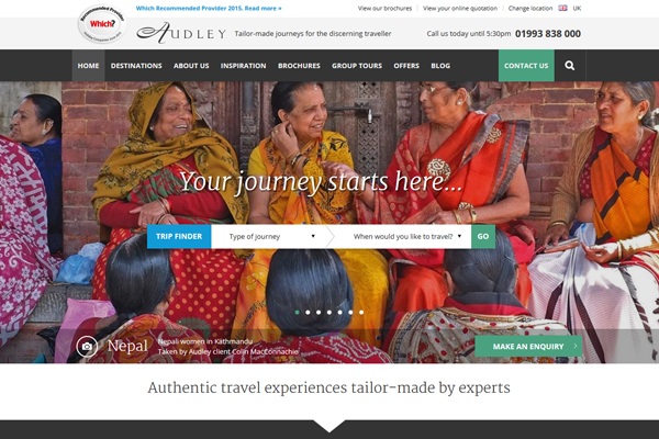 Brochures still have key role, says Audley Travel customers
